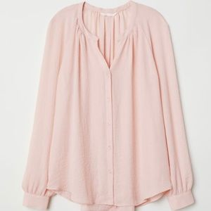 NWT H&M Pink Blouse Size 4